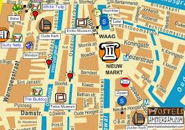 hostel amsterdam red light district map of latei and zipper hostels amsterdam maps of amsterdam