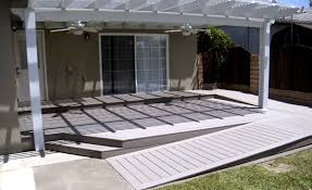 Patio Deck Cost by Wood Deck May Be Cheaper To Make But It Doesn U0027t Last As Long Or