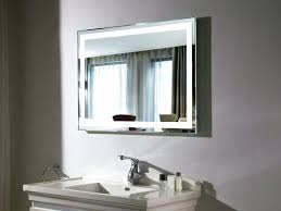 backlit bathroom mirror fluorescent backlit mirrors fluorescent
