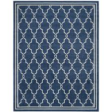 Safavieh Rug by Shop Safavieh Amherst Marion Navy Beige Rectangular Indoor Outdoor