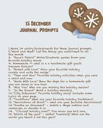 quinceberry december journal prompts