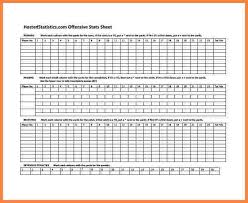 Stat Sheet Template 9 Statistics Spreadsheet Templates Costs Spreadsheet