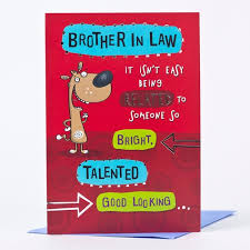 wonderful birthday cards that can make your brother in law