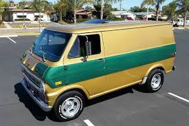 Ford Van Interior 1972 Ford E Series Custom Shorty Van