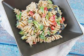 creamy pasta salad recipe creamy summer pasta salad recipe 6 points laaloosh