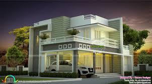 floor plan of ultra modern house kerala home design and floor plans