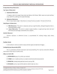Student Part Time Job Resume by Volunteer Fire Brigade Training Module 5 Rescue And Emergency Medical U2026