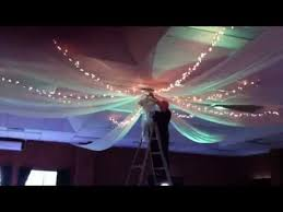 ceiling draping for weddings bent philipson wedding ceiling drapes