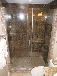 bathroom fascinating granite stone tile design with glass