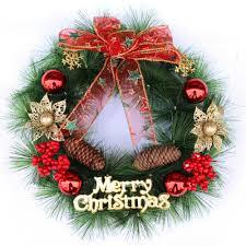 online get cheap free christmas wreath aliexpress com alibaba group
