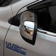 new chrome rearivew mirror cover trim for nissan versa sedan 2012