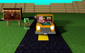 minecraft working car how to make a moving car in minecraft tutorial no mods youtube