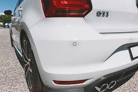 volkswagen polo optical parking sensors rear retrofit ops genuine