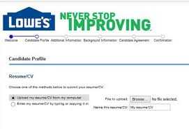 Lowes Resume Example by Lowes Career Guide U2013 Lowes Application Job Application Review