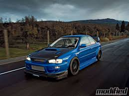 rocket bunny subaru forester 1998 subaru impreza 2 5rs coupe modified magazine