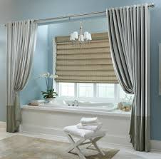 blue spa bathroom creditrestore us fashionable grey vinyl extra long shower curtain with over blinds