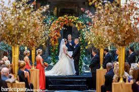 wedding arch leaves wedding wednesday feeling fall beautiful blooms