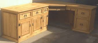 Solid Oak Corner Desk Custom Rustic Desks Oak Corner Desk Hutch Used Reception Desk