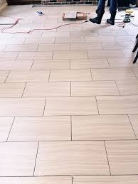 How To Lay Floor Tile In A Bathroom - which direction should you run your tile flooring well tile