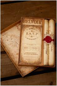 scroll wedding invitations montecristo scroll wedding invitation truly madly dottie