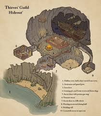 thieves u0027 guide hideout map cartography create your own