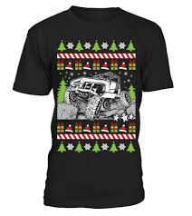 jeep christmas shirt ugly christmas jeeper t shirt teezily