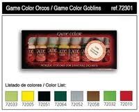 orcs u0026 goblins game color paint set 8 colors vallejo paint