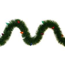 Garland by Shop Ge Indoor Outdoor Pre Lit 36 Ft L Pine Garland With