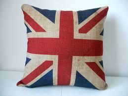 Union Jack Home Decor Amazon Com British Vintage Style Union Jack Flag Throw Pillow
