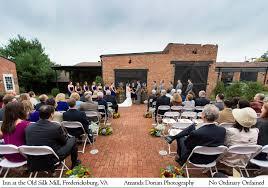 wedding venues in fredericksburg va wedding at the inn at the silk mill fredericksburg va