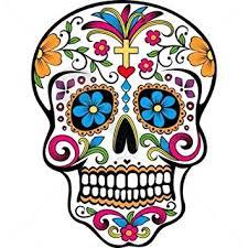sugar skull temporary by temptatz amazon co uk