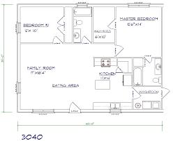 Stylist And Luxury 9 Floor Plans For A 40 X House Floor Plans 32 X 32 X 30 House Plans