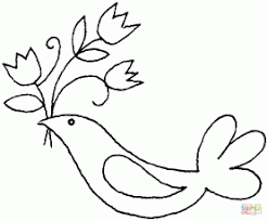 8 pics of white dove coloring pages dove clip art black and