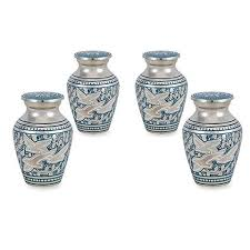 keepsake urns for ashes wings of keepsake urns for human ashes set of 4 trupoint