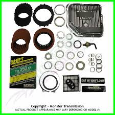 th 350 ss mega monster transmission complete rebuild kit