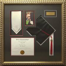 graduation frames with tassel holder cap and diploma frame