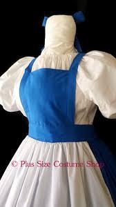 Belle Halloween Costume Blue Dress Belle Blue Dress Halloween Costume Size Super Size