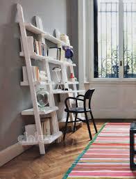 librerie bianche scrivania in melamminico moderna con ripiano libreria da