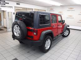 2012 used jeep wrangler unlimited 4wd 4dr sport at landers