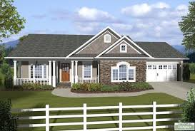 ranch house plan with 3 bedrooms and 2 5 baths plan 3059