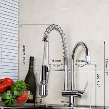 led kitchen faucet 8525 new kitchen led with 3 color polished chrome pull up and
