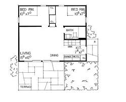 1 bedroom cottage floor plans floor plans aflfpw09501 1 cottage home with 2 bedrooms 1