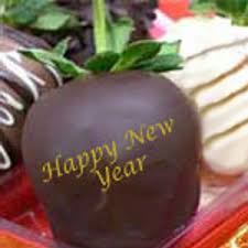 new year chocolate happy new year chocolate dipped strawberries delivered nationwide
