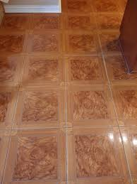 perfect paint color for orange tone tile floor