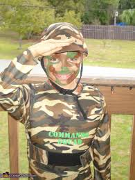 Army Halloween Costumes Boys Army Man Homemade Halloween Costume Boys