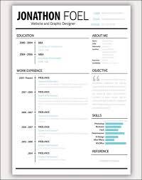 Creative Resume Builder Fun Resume Templates Template Idea