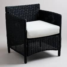 Black Patio Chairs Black Outdoor Wicker Furniture Outdoor Goods