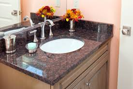 24 Bathroom Vanity With Granite Top by Tan Brown Granite Bathroom Vanity All Rooms Bath Photos