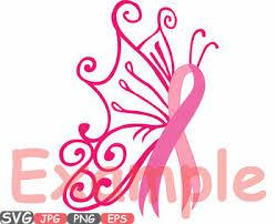cancer butterfly svg swirl props clipart awareness ribbon survivor