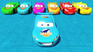 monster trucks lightning mcqueen spiderman disney cars party colors lightning mcqueen and friends dinoco